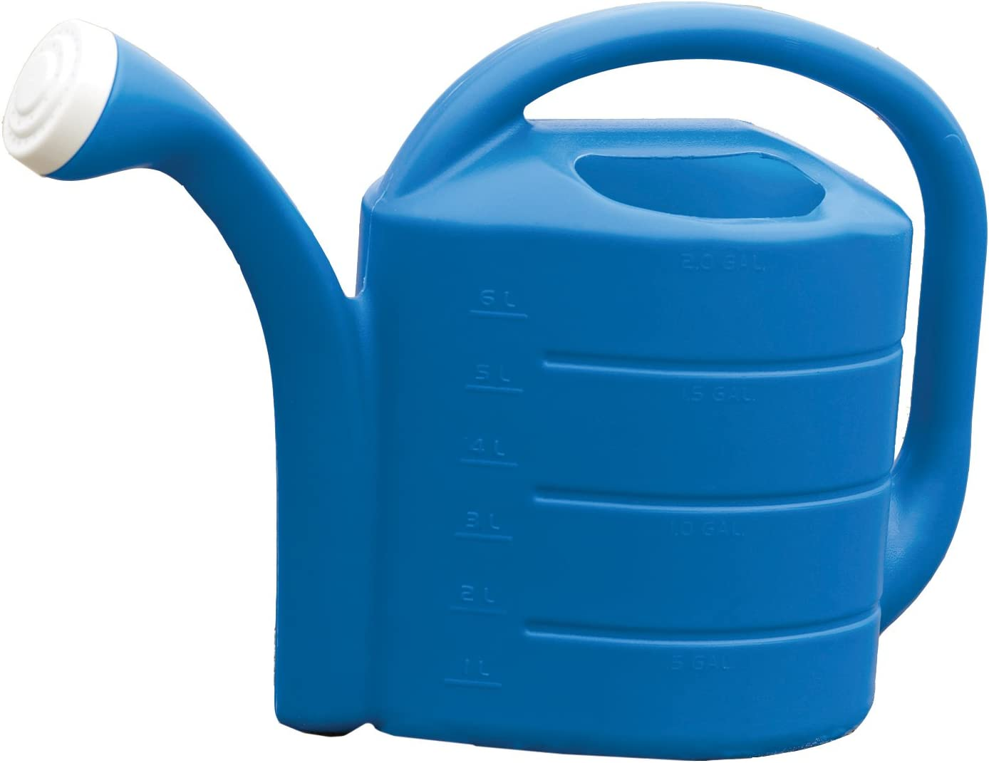 Novelty Watering Can, Bright Blue, 2 Gallons