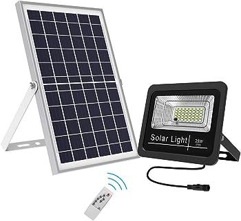 Bestqool 25-watt 1500 Lumens LED Solar Flood Light
