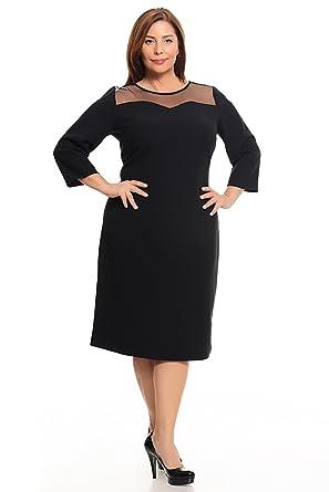 schickes Cocktailkleid Damen auch in PLUS SIZE, Kleid aus Lycra ...