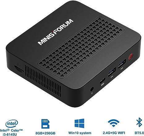 Mini PC actualizado Procesador Intel Core i3-8145U (hasta 3.90 GHz ...