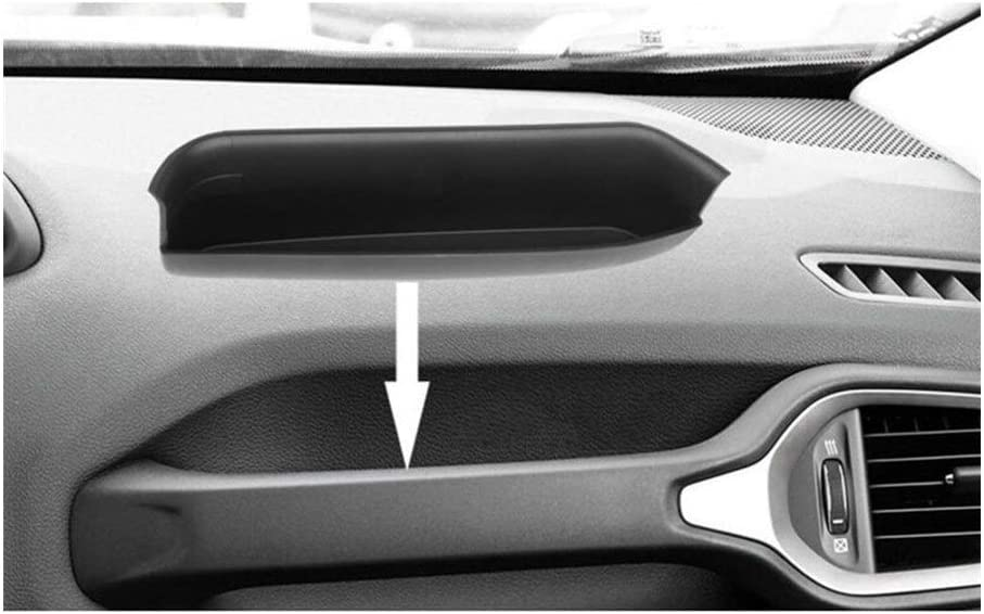 RJJX 5D tecnolog/ía de escaneo copiloto Barra de sujeci/ón de Almacenamiento Bandeja Organizador Caja en Forma for el Jeep Renegade 2015-2019 2020 Peso Ligero no t/óxico