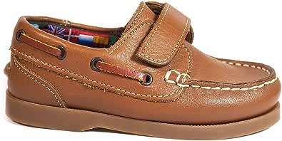 Zapatos para Hombre Fabricados en Piel Niños La Valenciana 020 Cuero