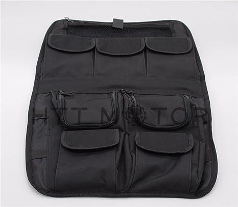 3365d803d610 XKMT Group Tour Pack Lid Organizer Soft Black Bag For Harley Davidson  Touring