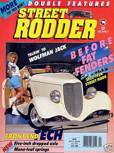 Before Fat Fenders: 1932-34 Street Rods - April, 1991
