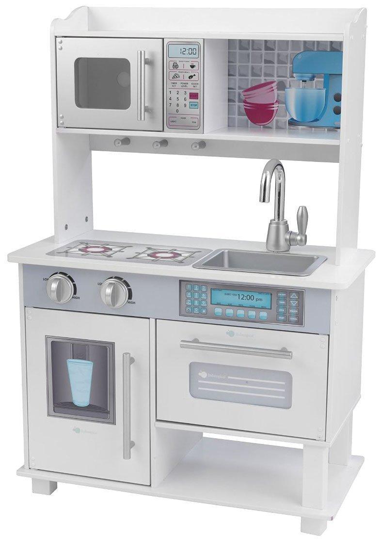 Amazon.com: KidKraft White and Silver Toddler Kitchen: Toys & Games