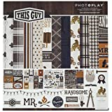 """Photo Play Paper Multicolor 12"""" by 12"""" Photo Play Collection Pack 12""""x12"""", This Guy"""