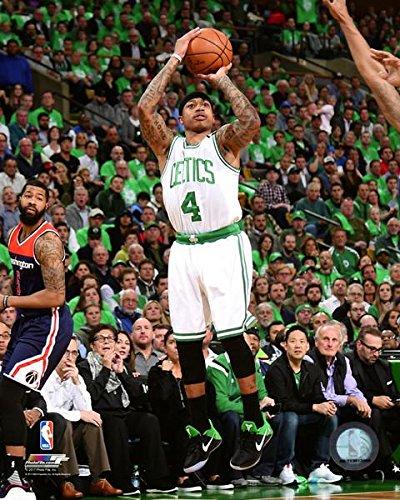 (Isaiah Thomas Boston Celtics 2017 NBA Playoff Action Photo (8