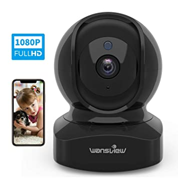 Amazon.com: Cámara IP, cámara de seguridad inalámbrica 1080P ...