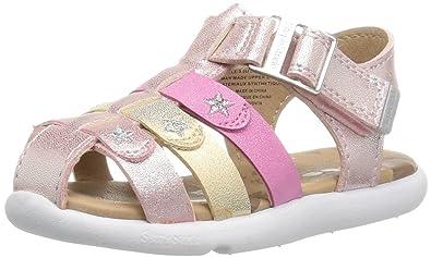 b360af157ce4 Step   Stride Delvine-P Baby Girl s Adjustable Fisherman Sandal