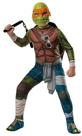 Disfraz de Michelangelo Tortugas Ninja 2 deluxe para hombre ...