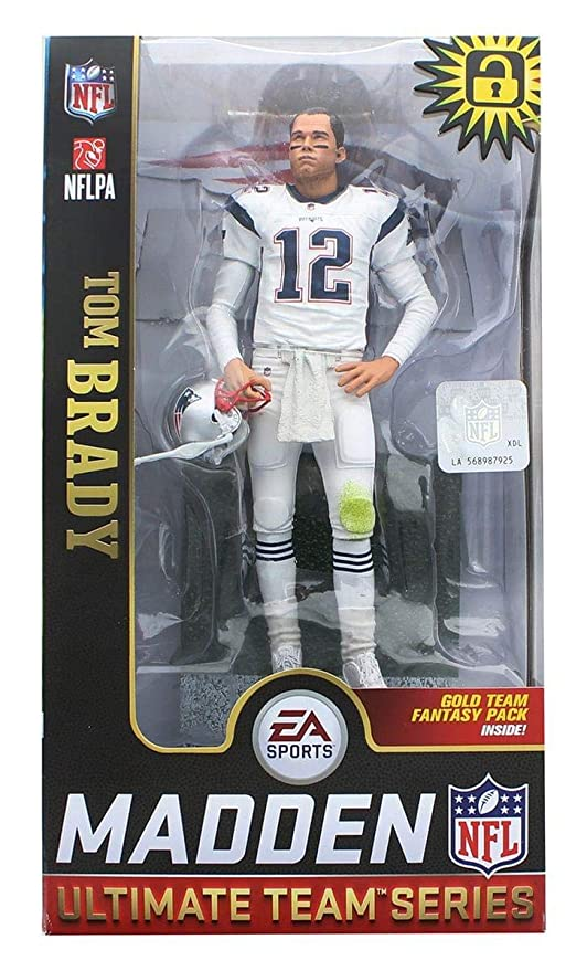 7861030e Amazon.com: EA Sports Mcfarlane Madden 19 Ultimate Team Series Tom ...