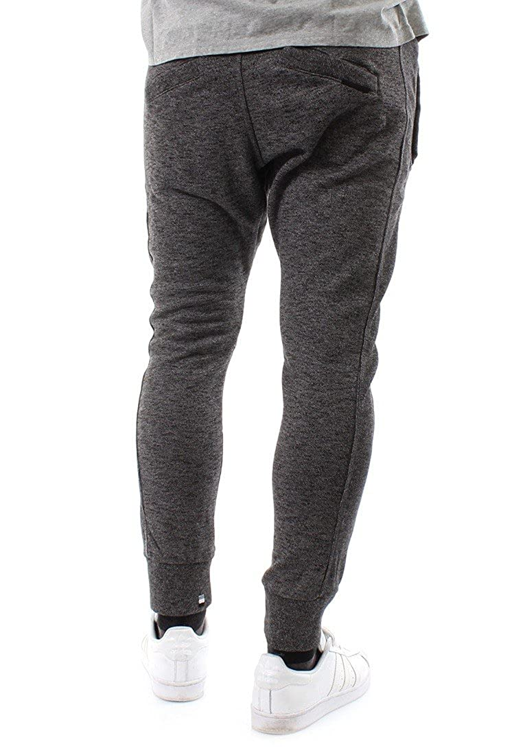 5fd1583cf4f70 Superdry Men's Training Joggers Sweat Pants Tracksuit Bottoms Jog Pant  Master Brand Jogger Low Light Black Mega Grit - Grey - S: Amazon.co.uk:  Clothing