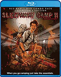 Sleepaway Camp II: Unhappy Campers (Collector's Edition) [Bluray/DVD Combo) [Blu-ray] by Shout! Factory