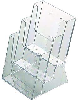 Prospektst/änder Din A5 Metall Hochformat//Prospekthalter Flyer St/änder Werbung Aufsteller
