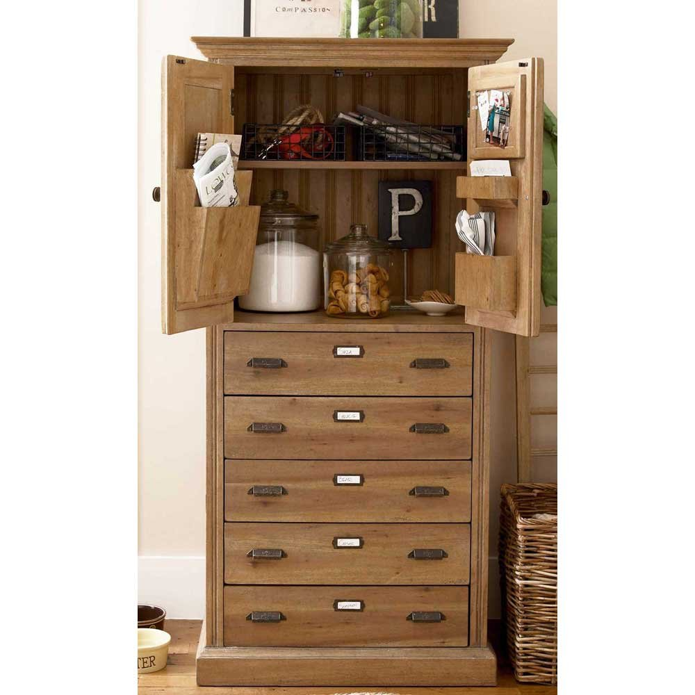 Paula Deen Kitchen Furniture Amazoncom Paula Deen Home Paulas Kitchen Organizer Cabinet