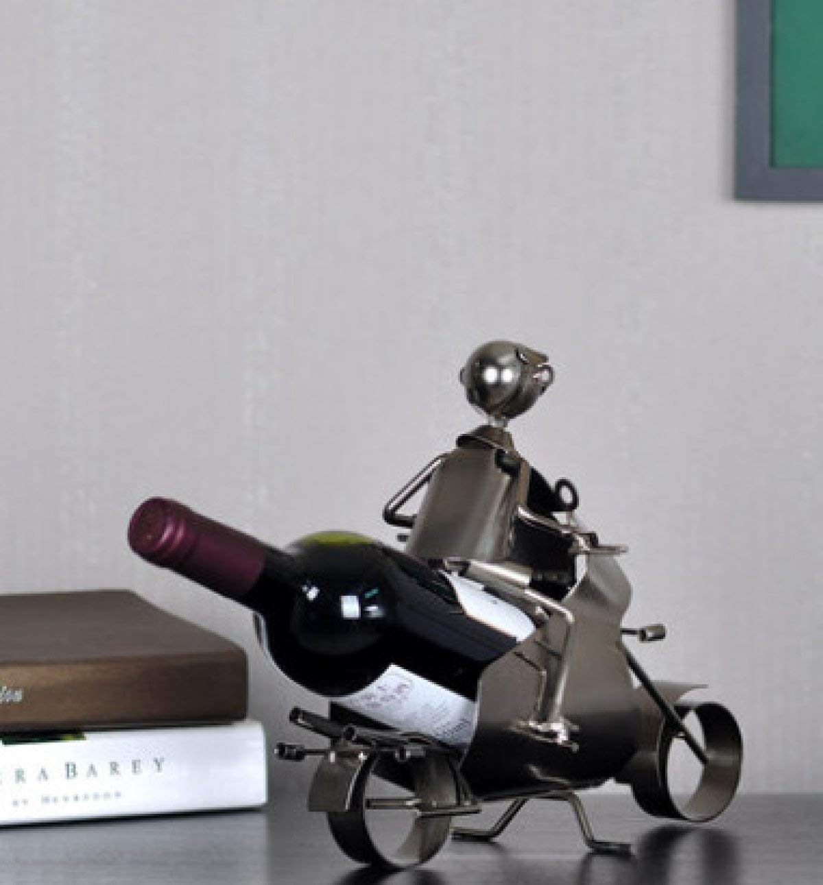 Red Wine Shelf Fun Iron Creative Personality Simple Fashion Motorcycle Ornaments Red Wine Rack