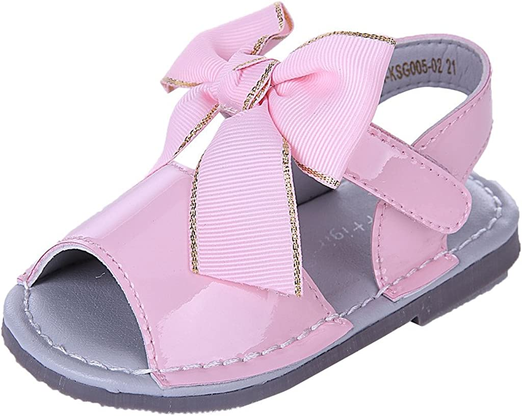 KIDS GIRLS INFANTS BABY SPANISH STYLE MENORCAN SUMMER PEEP TOE BOW SANDALS SHOES