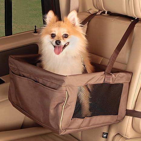 Portátil Asiento Del Coche De Seguridad Mascotas Coche Perro ...