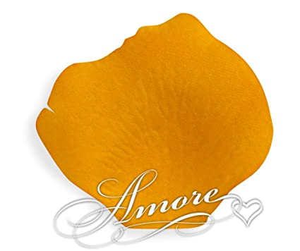 amazon com 200 wedding silk rose petals burnt orange home kitchen
