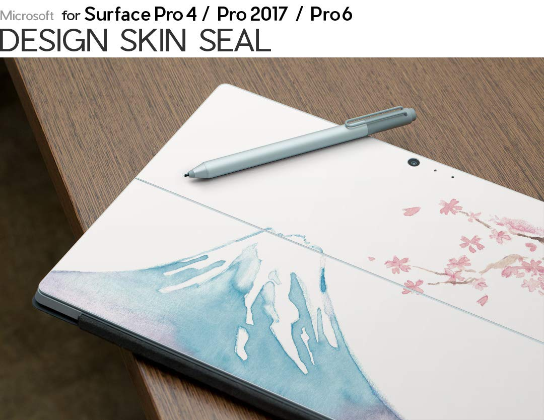 2018 009290 igsticker Ultra Thin 3M Premium Protective Back /& Side Body Stickers Skins Universal Tablet Decal Cover for Microsoft Surface Pro 4// Pro 2017// Pro 6