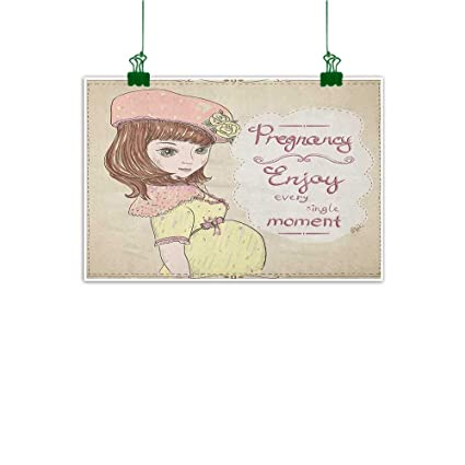 Amazon.com: Gabriesl Wall Paintings Quotes Pregnancy Enjoy ...