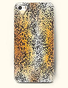 Gold And White Cheetah Print -- OOFIT Case for Apple iPhone 4 4S Case - Animal Print