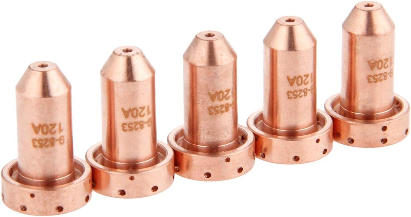 5Pcs 30A Nozzle Tips 9-8205 Fit for SL60 SL100 20-30A Plasma Torch Consumables