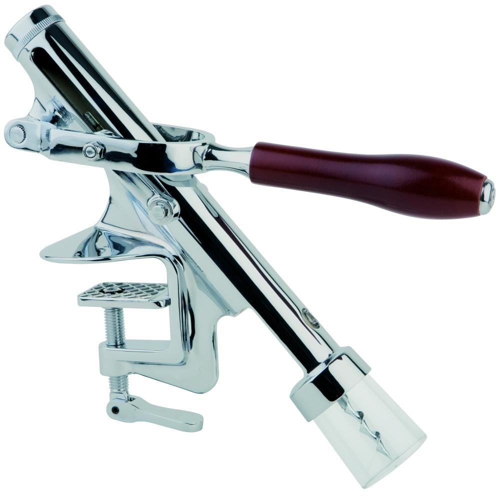 APS 93299 Korkenzieher Gesamtl/änge 53cm Zinkdruckguss Griffl/änge 13,5cm Holz
