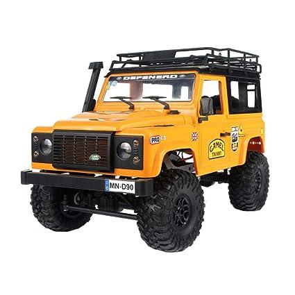 H-sunshy MN Land Rover Defender MN90 D90 Land Rover Jeep Offroad Modelo de Coche