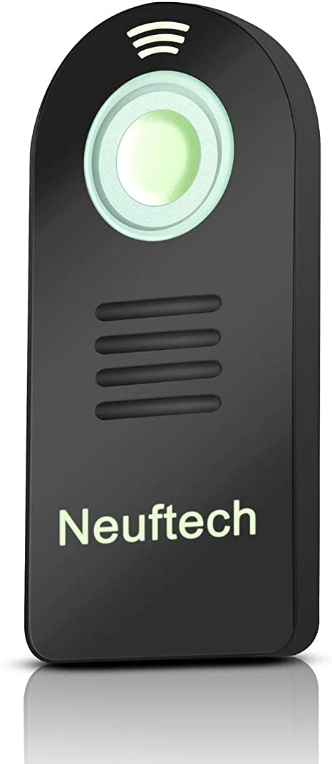 Neuftech mando inalámbrico IR control remoto mini para cámaras ...