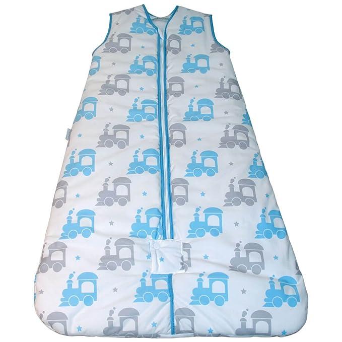 Bebelindo Pekebaby Saco de Dormir bebé TRENECITO 2.5 TOG: Amazon.es: Ropa y accesorios
