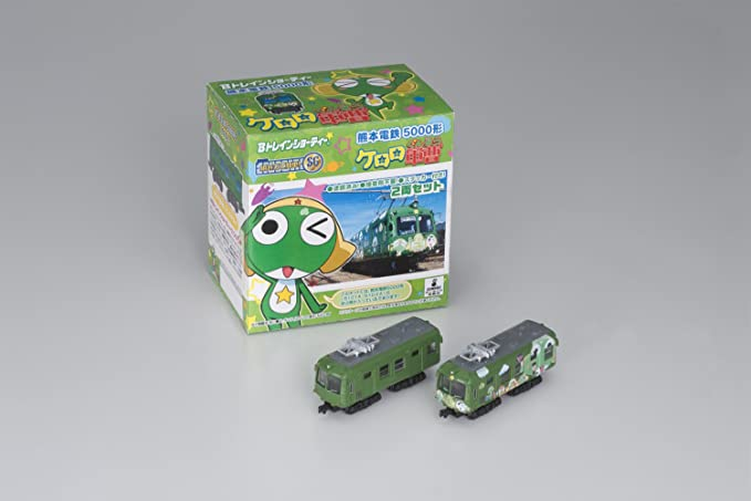 BANDAI (2 Cars into The Top Car) B Train Shorty Kumamoto ...