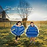 Etuoji (US Stock) PVC Inflatable Bumper Ball, Human Knocker Ball Zorb Ball Bubble for Kids Pack of 2