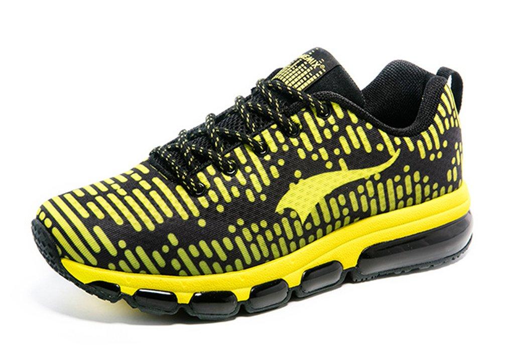 ONEMIX Zapatillas de Running de Competición de Material Sintético Adultos Unisex 44 EU|Negro/Amarillo