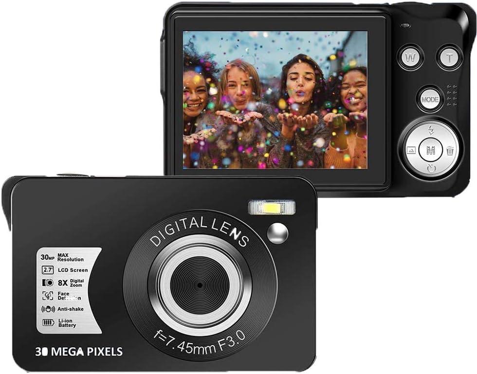 Cenzo Digitalkamera 30mp Kamera 2 7 Zoll Tft 8x Kamera