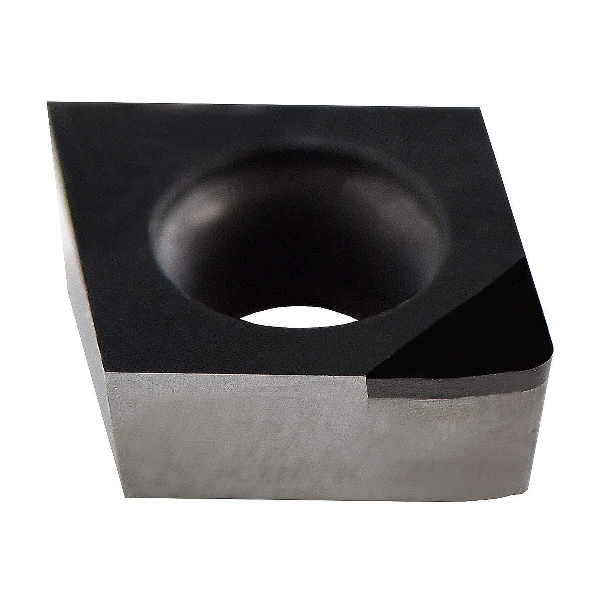 MAXTOOL 10PCs CCMW32.52WP10 PCD Tipped Inserts Wiper Polycrystalline Diamond Grade 1500 CCMW09T308