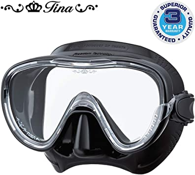 TUSA Freedom Tina Mask Ladies Dive Mask FAST FREE DELIVERY M-1002