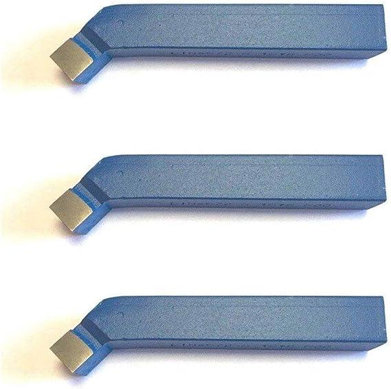Hartmetalleins/ätze CNC-Hartmetallspitzen-Drehwerkzeug mit Kasten CCMT09T304 VP15TF f/ür die Bearbeitung von gew/öhnlichem Stahl und gew/öhnlichem Edelstahl 10 Stk