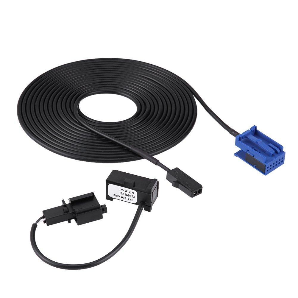 Qiilu QL06063 Kit cavi per cablaggio microfono Bluetooth