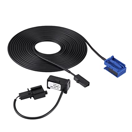 Amazon com: KIMISS Bluetooth Microphone Harness Cable Kit VW Peugeot