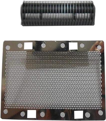 Recambio de lámina y cortador compatible para afeitadora SANYO SV-M305U SV-M308 SV-M310A SV-M303 SV-M6,Accesorios para afeitadora de cuchillas de afeitar de hombre: Amazon.es: Belleza
