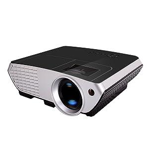 2000 Lumens LCD LED Multi-media Mini Portable Video Projector Game Home Cinema Theater Movie
