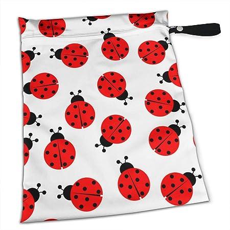 Hlinksy Ladybug - Bolsas para pañales de bebé con Cremallera ...
