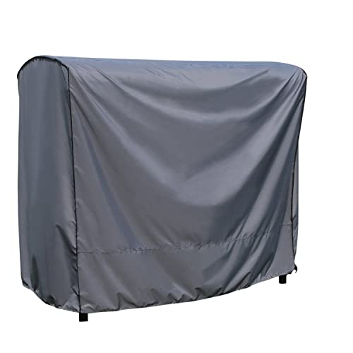 SORARA Protective Cover for Swing Chair   Grey   203 x 145 x 183 cm (L x W x H)   Water Resistant Polyester & PU Coating (UV 50+)  Strong & Durable   Premium   for Patio Outdoor Garden Furniture