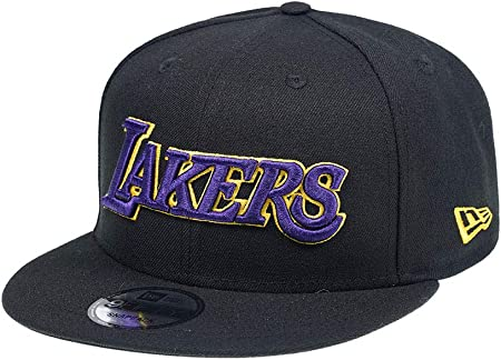 A NEW ERA Era Los Angeles Lakers Blackteam Edition 9Fifty - Gorra ...