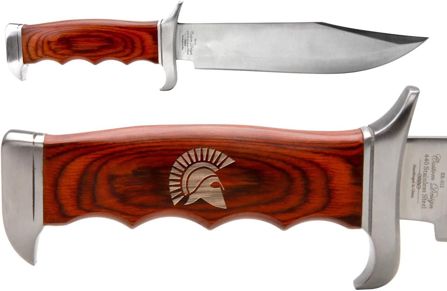Elk Ridge 12.5 Outdoor Hunting Fixed Blade Full Tang Bowie Knife
