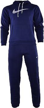 Nike Negro De Hombre 679387 Chándal Completo - Azul Marino ...