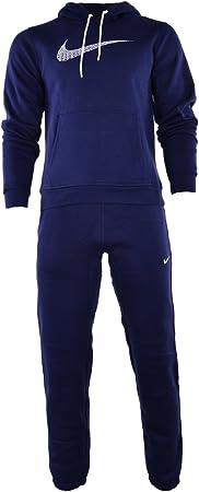 Nike Negro De Hombre 679387 Chándal Completo - Azul Marino, Large ...