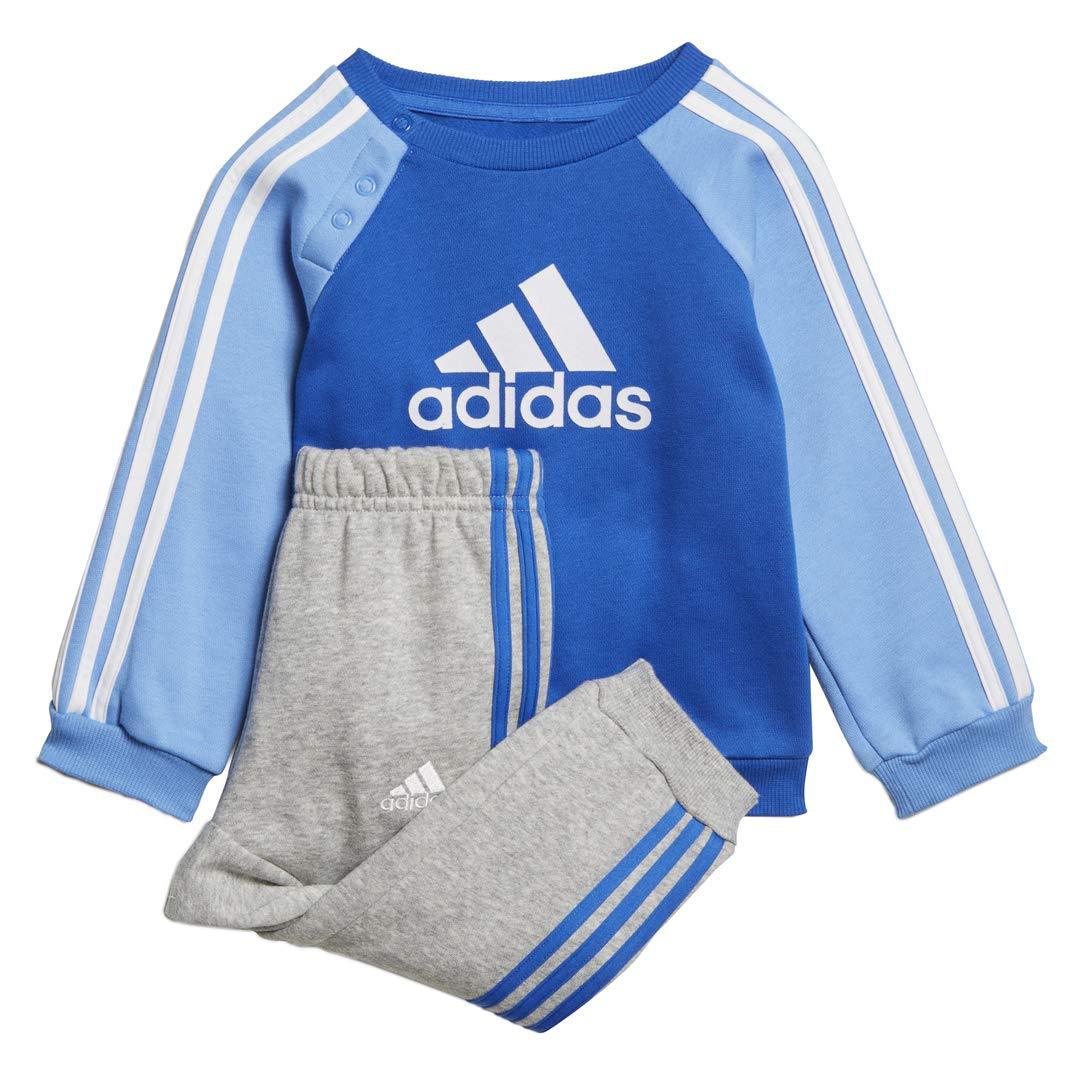 adidas Kids Tracksuit Set Training Athletics Baby Boys Logo Fleece Jogger
