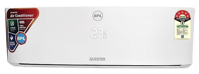 BPL 1.5 Ton 5 Star Inverter Split AC (Copper, A18KI5C8A, White)